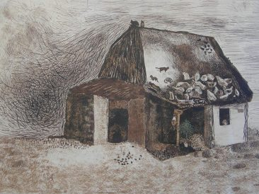 Cottage, drawing