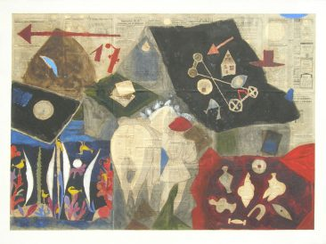 Game memories, 145x200cm, 1994.