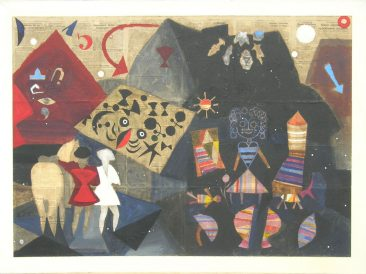 Parallel worlds, 145x200cm, 1994.