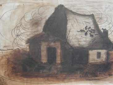 Cottage II, drawing